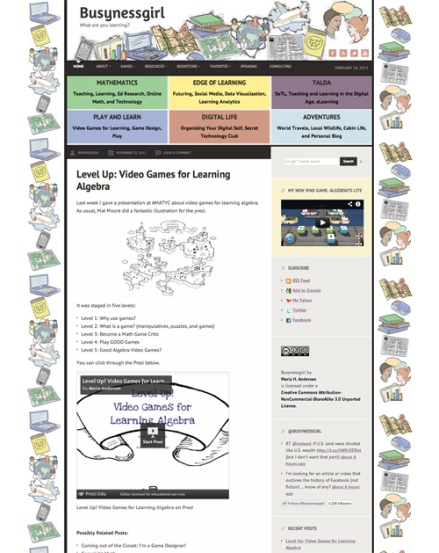 Busynessgirl.com 2012 Relaunch