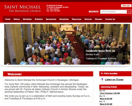 Saint Michael The Archangel Church of Muskegon, Michigan