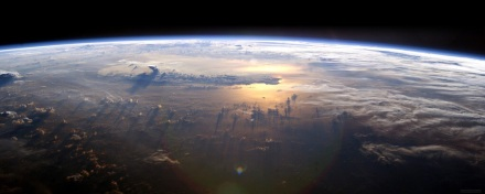 Photo of Earth from outter space