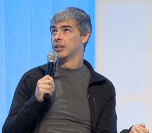 Larry Page of Google - Fireside Chat